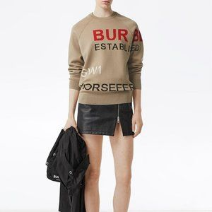 BURBERRY Horseferry jumper